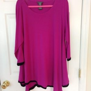Chelsea and Theodore Asymmetrical Tunic